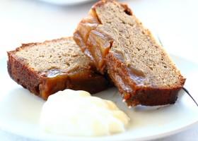 BACKGROUND Gluten Free Apple Cake