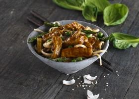 BACKGROUND Noodle Stir Fry