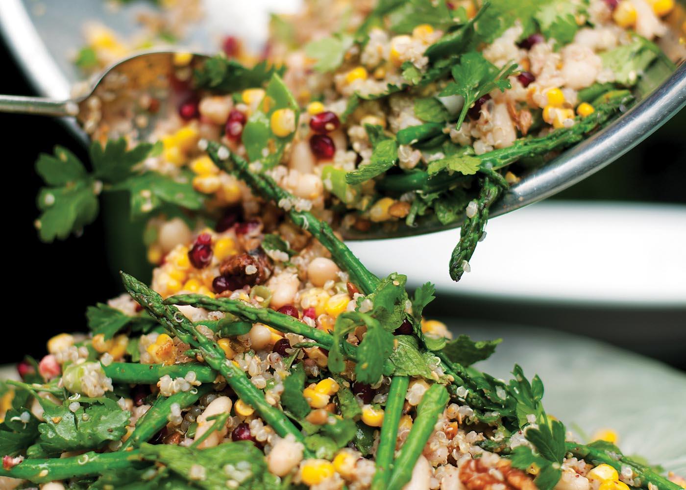 Cannellini, Pomegranate and Quinoa Salad FOODWISE