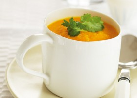 Carrot Soup Background