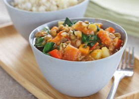 Lentil Casserole Background