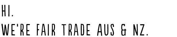 fair trade 1