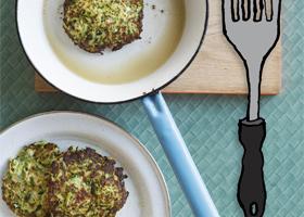 Zucchini Haloumi Fritters thumbnail