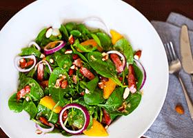 Ham-Mango-Spinach-Salad-FEATURED