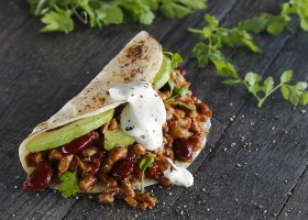 BACKGROUND Mexican Beef-Style Wraps